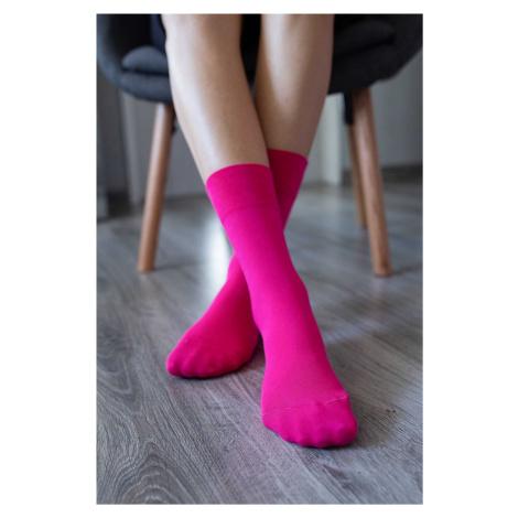Barefoot ponožky - ružové 43-46