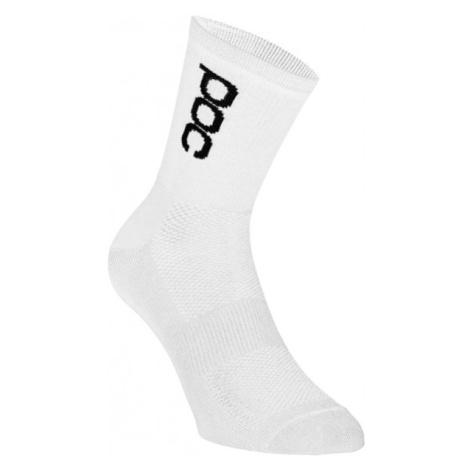 POC ESSENTIAL ROAD LT biela - Športové ponožky