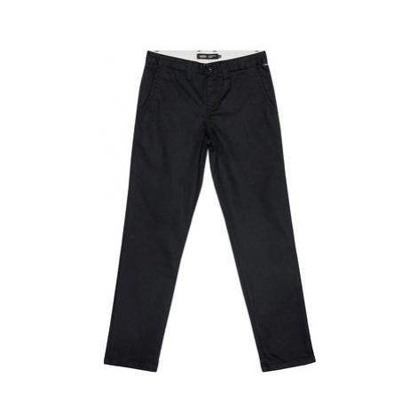 Vans Bavlnené nohavice By Authentic Chino VN0A36ML Čierna Slim Fit