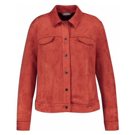 SAMOON Prechodná bunda  hrdzavo červená