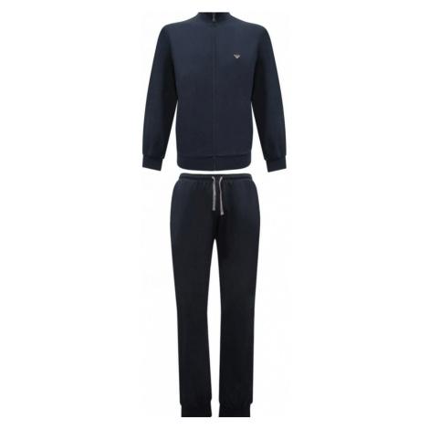 Pánske pyžamo 111795 CC570 00135 modrá - Emporio Armani