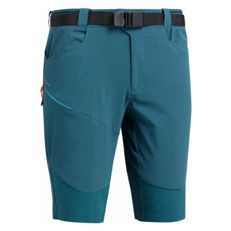 QUECHUA Dlhé šortky Mh500 Modré