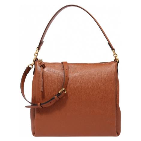 COACH Kabelka 'leather shay shoulder bag'  hnedá
