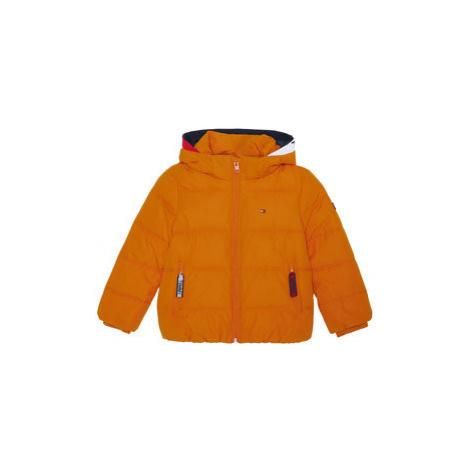 Tommy Hilfiger Vatovaná bunda Essential KB0KB05982 M Oranžová Regular Fit