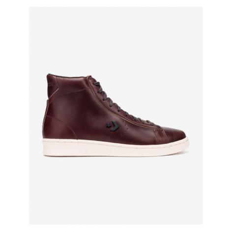 Converse Pro Leather High Tenisky Červená
