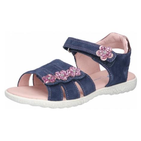 RICHTER Sandále  modrá / ružová