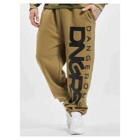 Dangerous DNGRS / Sweat Pant Classic in khaki - Veľkosť:4XL