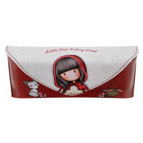 Santoro červené puzdro na okuliare Gorjuss Little Red Riding Hood Santoro London