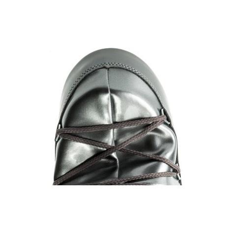 Moon Boot Snehule Vinile Met. 14021400004 Strieborná