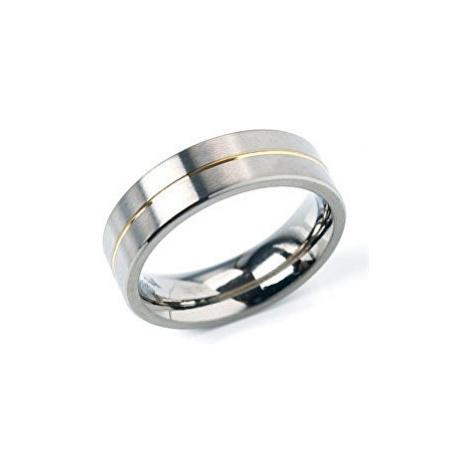 Boccia Titanium Snubný titánový prsteň 0101-21 mm