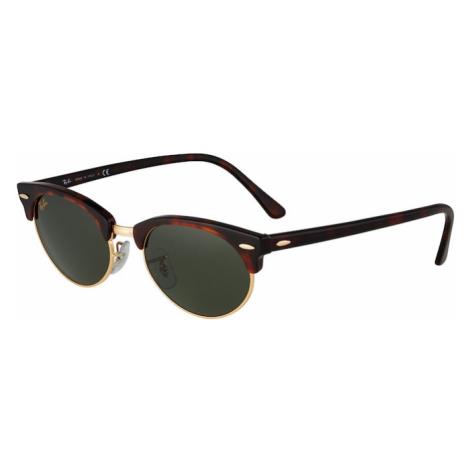 Ray-Ban Slnečné okuliare  hnedá / tmavozelená