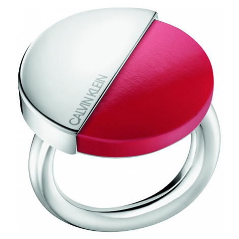 Calvin Klein Štýlový prsteň s červeným kameňom Spicy KJ8RRR0401 mm