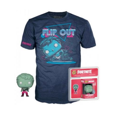 Figúrka a tričko Funko POP! Tees: Fortnite - Love Ranger