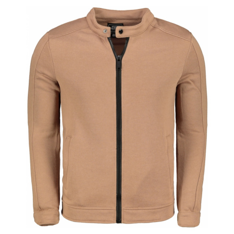 Ombre Clothing Men's zip-up sweatshirt B1071