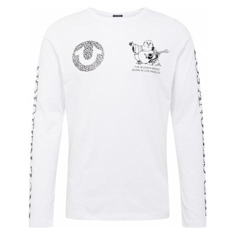 True Religion Tričko  biela / čierna