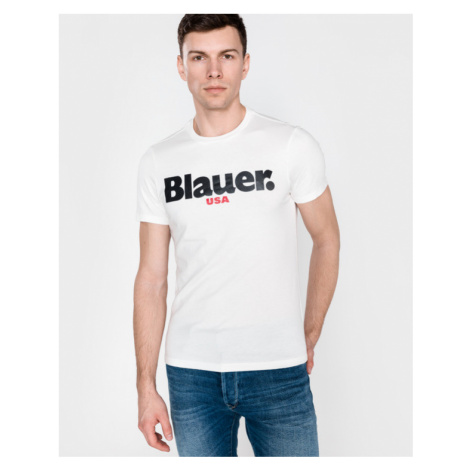 Blauer Tričko Biela