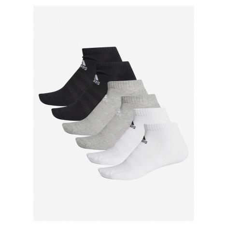 Ponožky adidas Performance Cush Low 6Pp Farebná