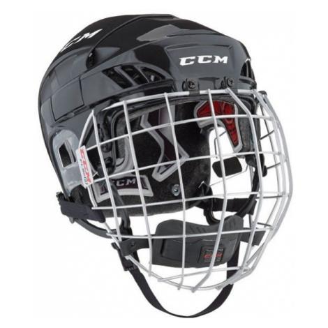 CCM FL60C SR COMBO čierna - Hokejová prilba