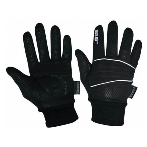Zimní rukavice SULOV pro běžky i cyklo, černé Oblečení