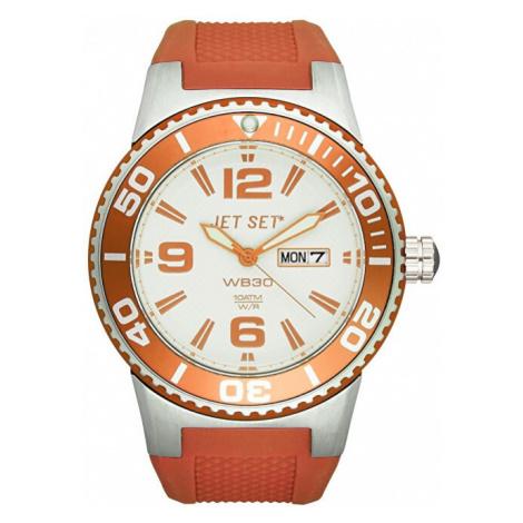 Jet Set Analogové hodinky WB30 J55454-05 s vodotěsností ATM