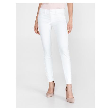 Jeans Just Cavalli Biela