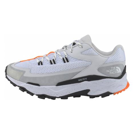THE NORTH FACE Bežecká obuv  biela / sivá / oranžová / čierna