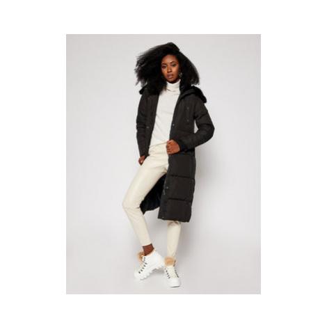 Desigual Zimný kabát Katia 20WWEWB3 Čierna Straight Fit