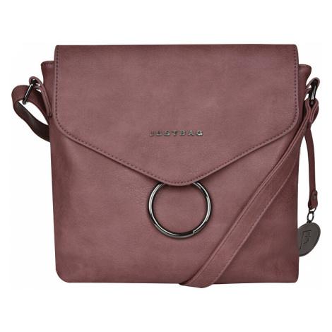 JustBag Dámska kabelka YF1812-908 Dark Pink
