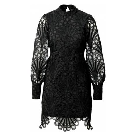 River Island Kokteilové šaty  čierna