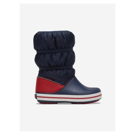 Crocband™ Winter Sněhule dětské Crocs Modrá