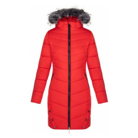 Loap TALKA červená - Dámsky zimný kabát
