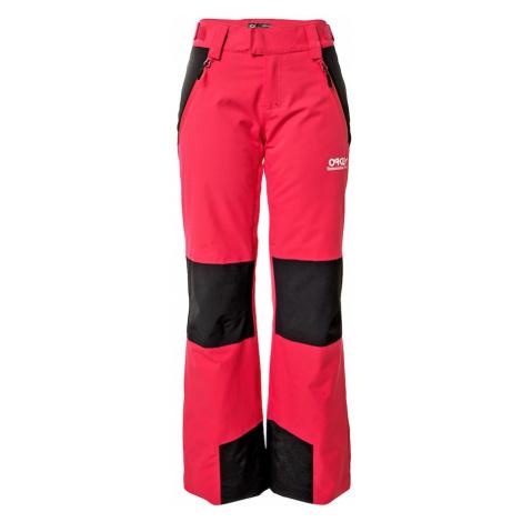 OAKLEY Outdoorové nohavice  ružová / čierna
