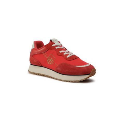 Gant Sneakersy Bevinda 21533838 Červená