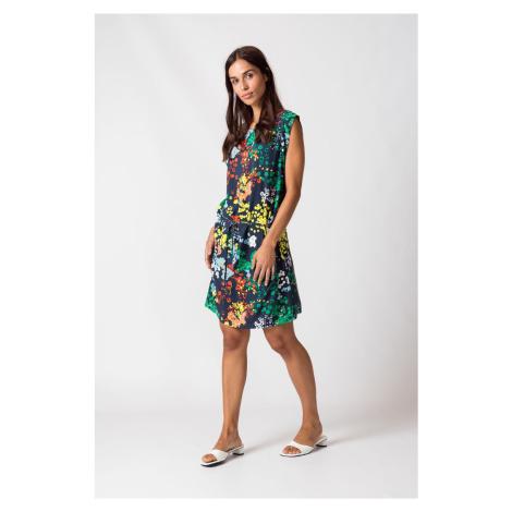 SKFK farebné šaty