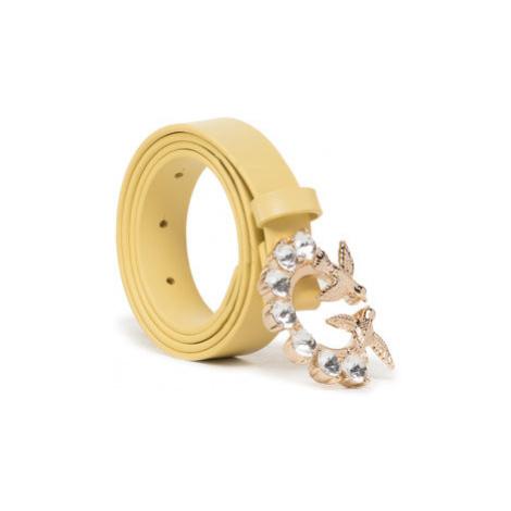 Pinko Dámsky opasok Berry Small Jewel 1 Belt PE 20 PLTT 1P21QK Y5FF Žltá