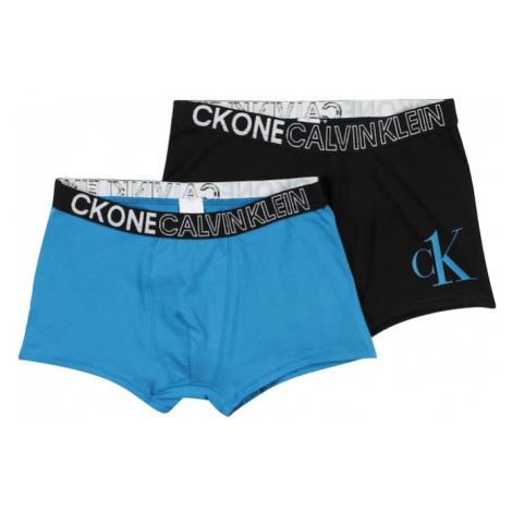Calvin Klein Underwear Nohavičky  modrá / čierna / biela