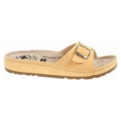 Dámské pantofle Medi Line S182.010 yellow S182.010 yellow