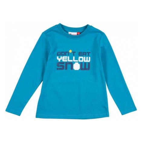 LEGO WEAR Tričko 'TAUPO'  tyrkysová / námornícka modrá / biela