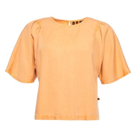 Superdry Tričko  oranžová
