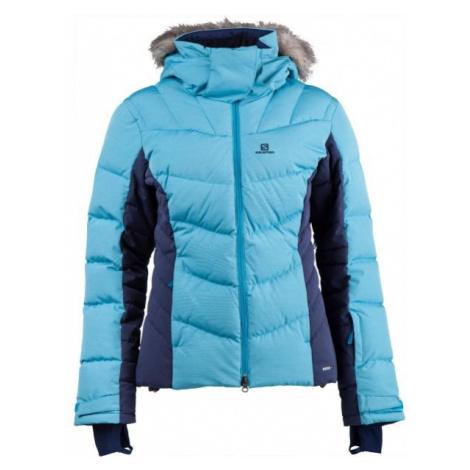 Salomon ICETOWN JKT W modrá - Dámska zimná bunda