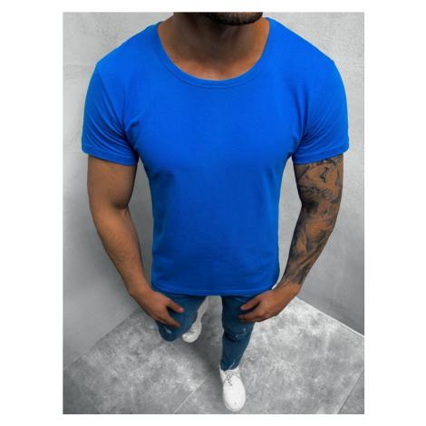 Nebesky modré jednoduché tričko O/1208Z BREEZY