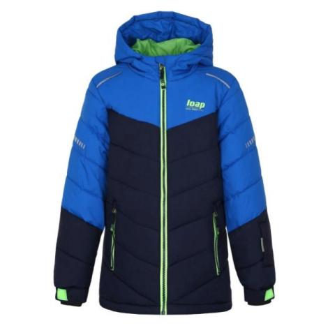 Loap FUGAS modrá - Detská lyžiarska bunda