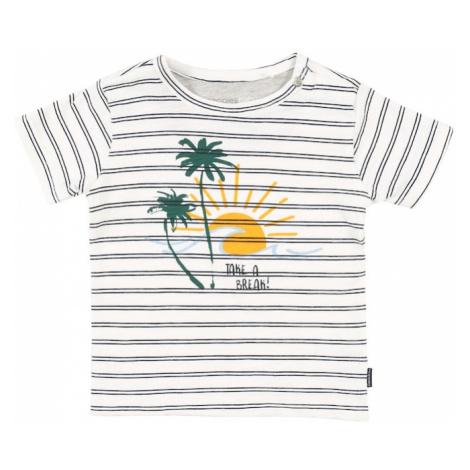 Noppies Tričko 'Asbury'  zelená / svetlomodrá / biela / čierna / žltá
