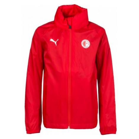 Puma LIGA TRG JKT JR SLAVIA červená - Chlapčenská športová bunda