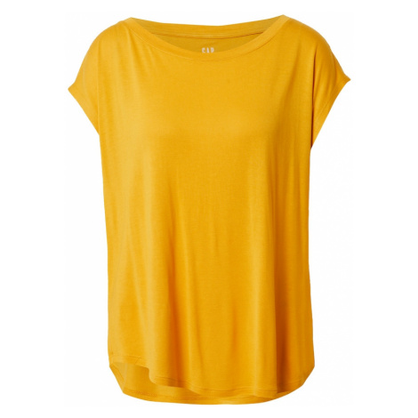 GAP Tričko  zlatá žltá