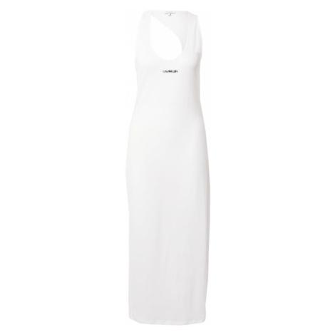 Calvin Klein Swimwear Plážové šaty  biela