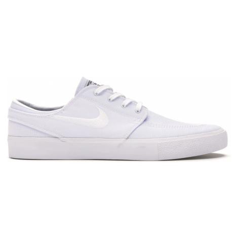 Nike SB Zoom Stefan Janoski Canvas-5 biele AR7718-100-5