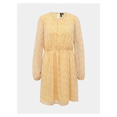 Molly Šaty Vero Moda Žltá