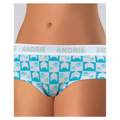 Women's panties Andrie turquoise (PS 2406 A)