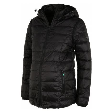 čierne tehotenské bundy a kabáty